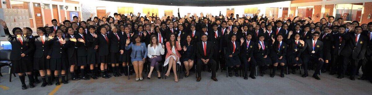 test Twitter Media - #DiaDelEstudiante  Con Primera Ministra @MecheAF visitamos el COAR Aqp para saludar a los jóvenes en su día https://t.co/Xfintm5Lv1