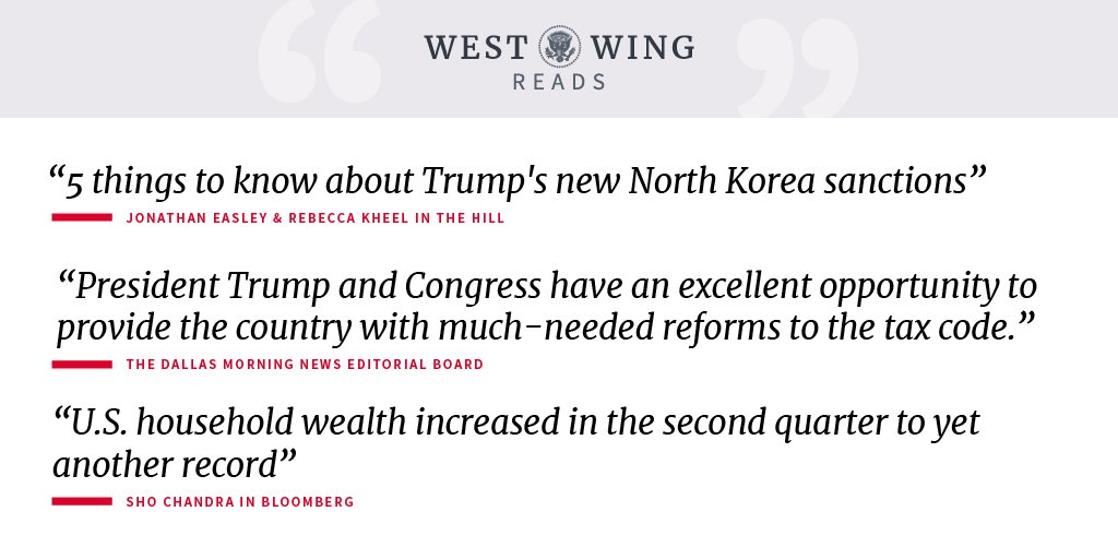 West Wing Reads: https://t.co/5PSq3Wxbk4 https://t.co/FhLCr41V6I