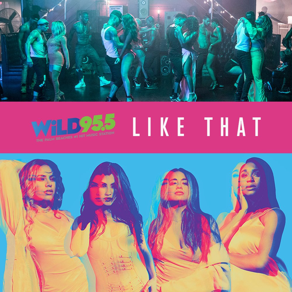 Ayeeee @WiLD955 added #HeLikeThat ❤️ Request away Florida Harmonizers! https://t.co/FZx4tNkVbd