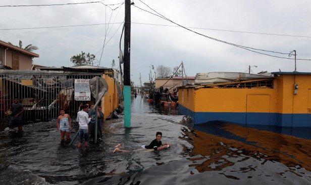 Maria badai Pulau Turks and Caicos, 25 mati