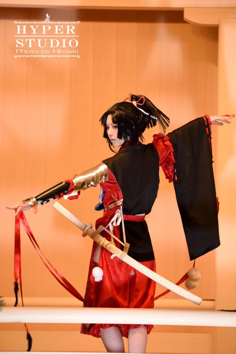 【cos|刀剣乱舞|小烏丸】能の歴史も1000年以上。photo: #がーでんえふ ※イベントにつき、占領等しないようス