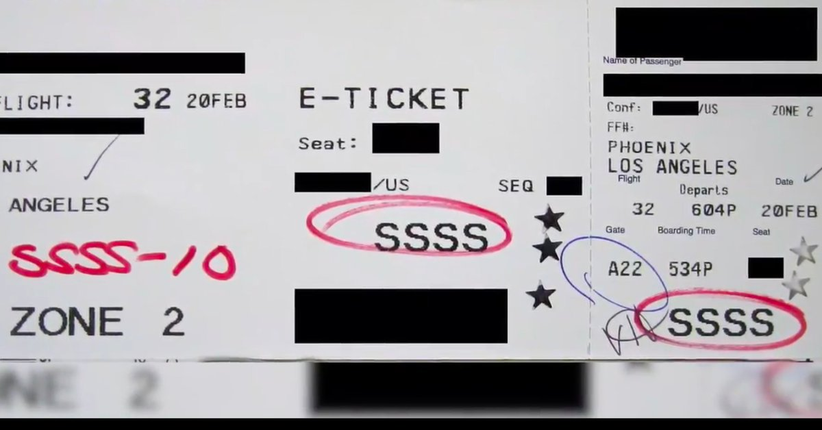 The 4-letter code you do NOT want to see on your boarding pass