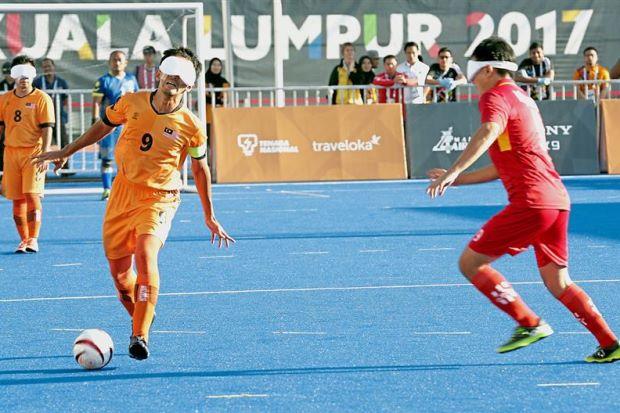 M'sia's blind footballers take bronze medal - Nation