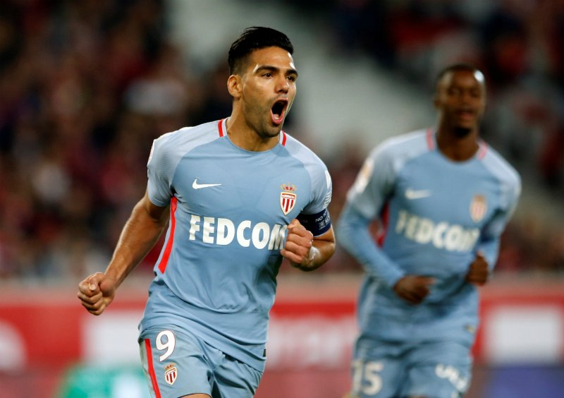 Red-hot Falcao stars as Monaco thrash Lille