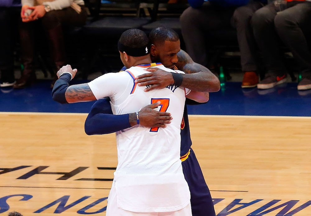 Melo adds to the list of teams, which includes the Cavs, that he would...