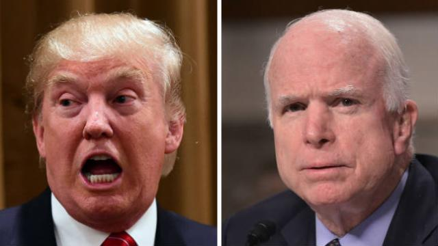 """Trump McCain opposing GOP ObamaCare repeal """"totally unexpected"""" and """"terrible"""""""