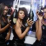 Nigerian party people keep the champagne flowing through recession