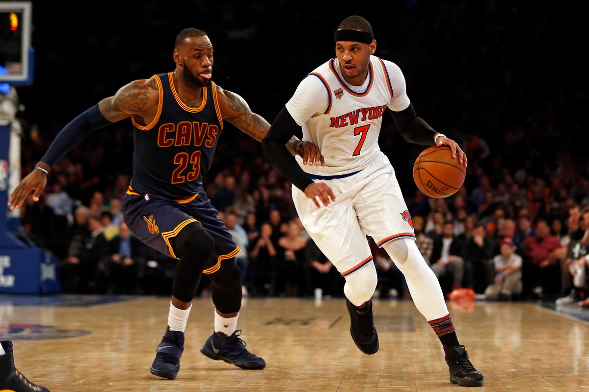 REPORT Carmelo Anthony willing to accept trade to Cleveland CavaliersMORE