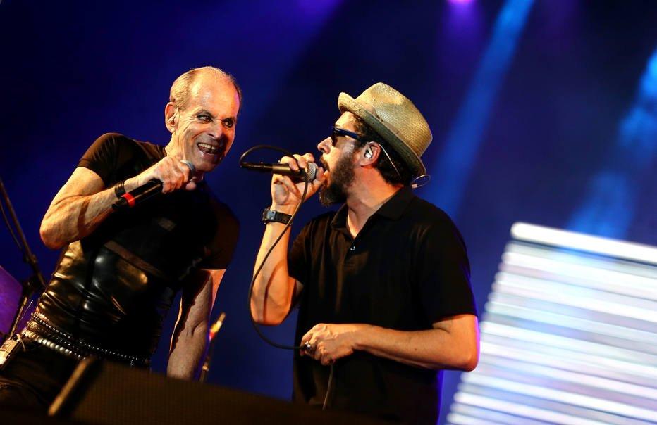 #RockInRio Ney Matogrosso e Nação Zumbi se anulam em show com músicas dos Secos e Molhados