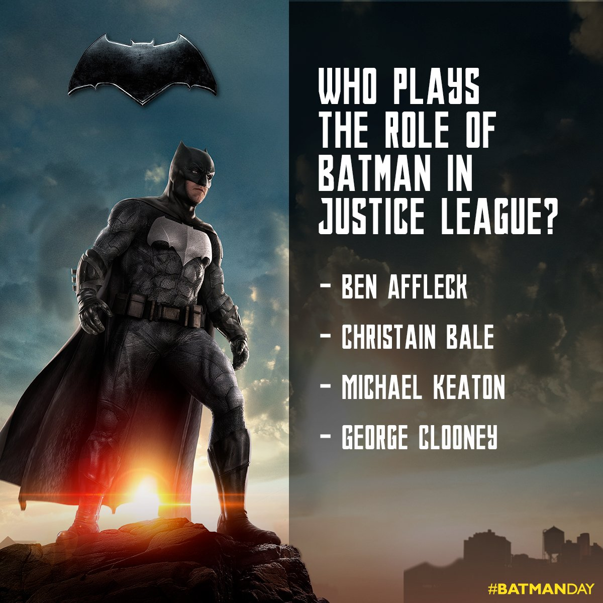 #ContestAlert #BatmanDay Answer this simple question & stand a cha...