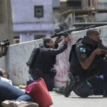 Brazil's army sent to quell Rio favela violence