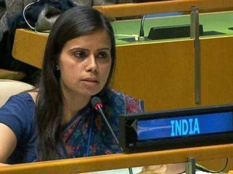 India calls Pakistan 'Terroristan' at UN, says polluter paying price