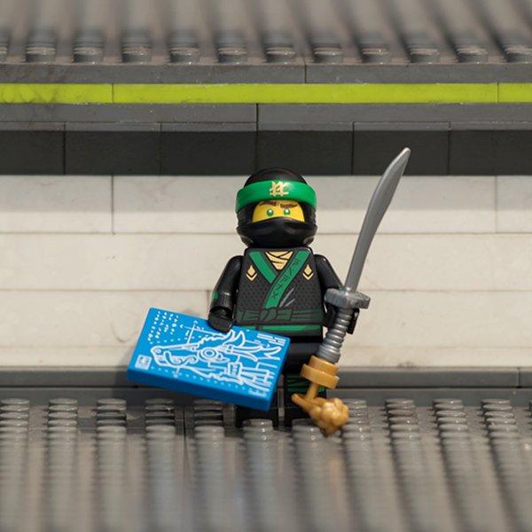 日本の景色や街なみを「#レゴブロック」で再現している「#ミニランド」。今なら、その各所に「#レゴニンジャゴー」のキャラク