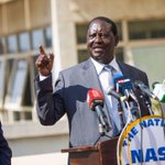 The new election date is Uhuru's birthday present-Claims Raila Odinga