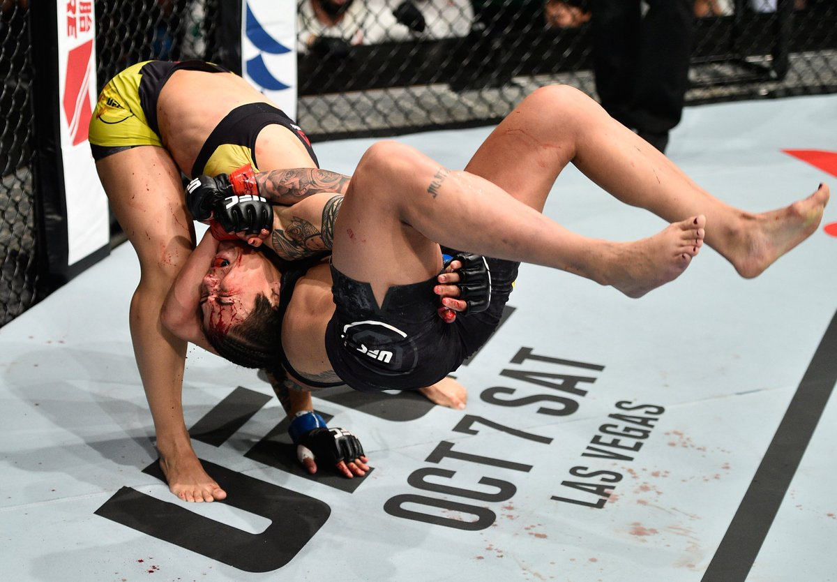Y'all. This shot is ridiculous: Jeff Bottari via Getty Images #UFCJapa...