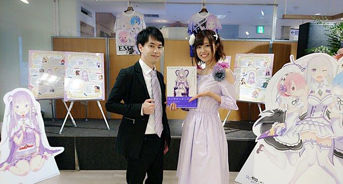 「Re:ゼロから始めるエミリアの誕生日生活 in 渋谷マルイ」のトークショーは終了しました! ご来場いただいた皆様、エミ