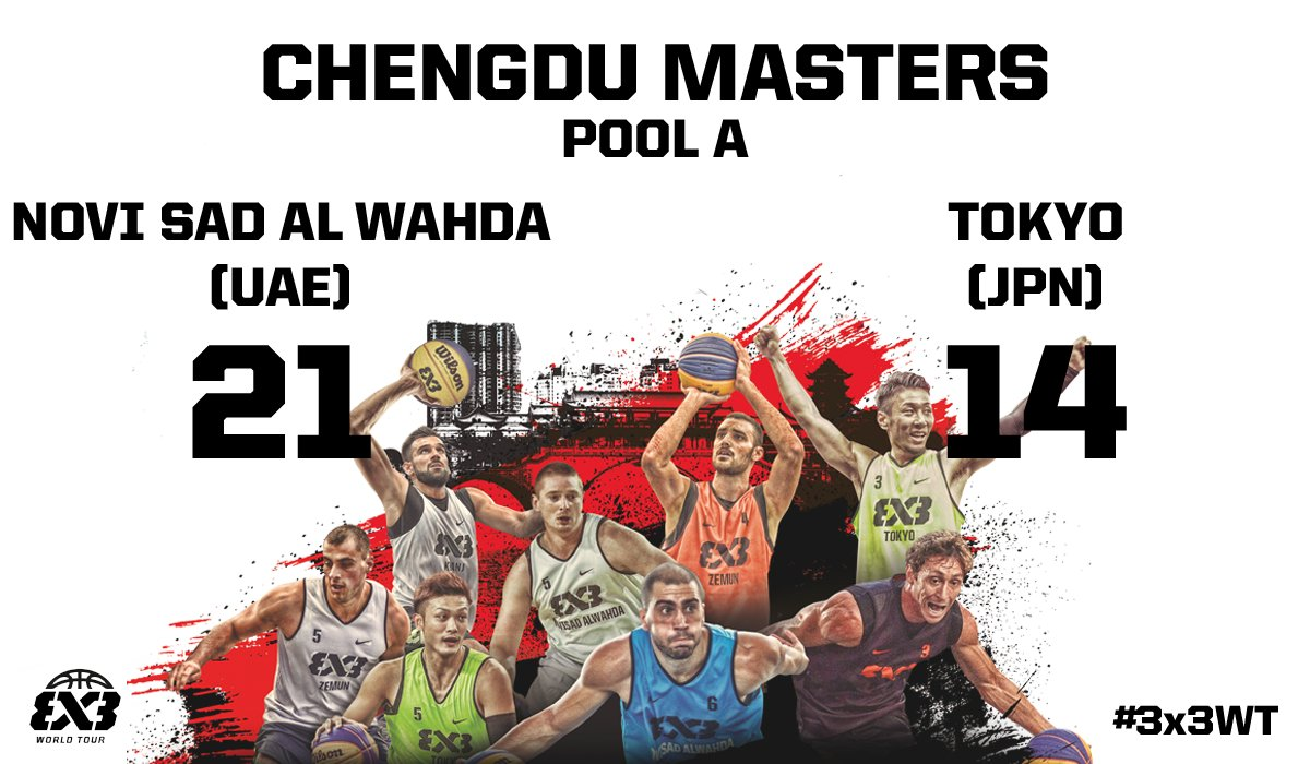 #3x3WT Final Scores �� https://t.co/O6AjAI5YxT https://t.co/zdfb3a7CxV