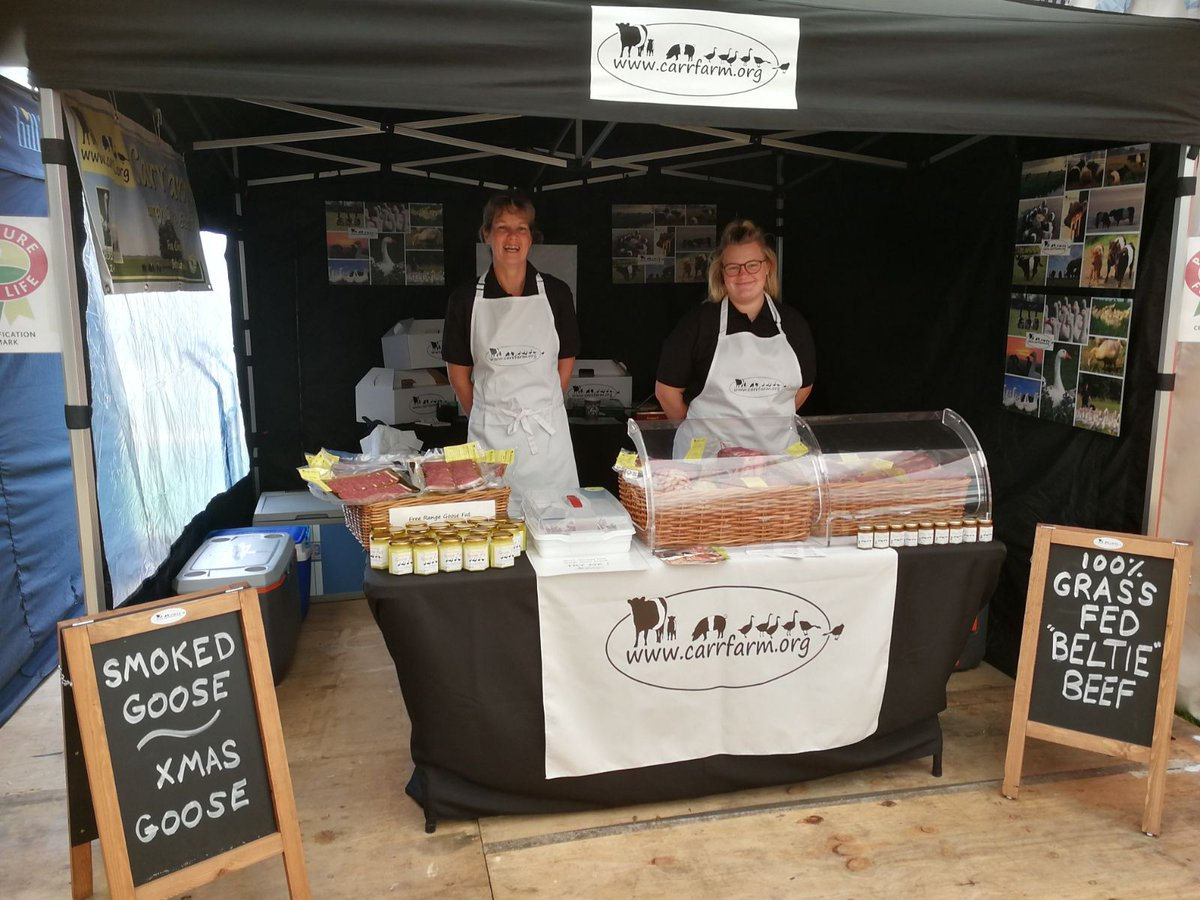 test Twitter Media - All set up @AldeburghFood festival come and try our #beltiebeef & #smoked #goose https://t.co/6C6tIRqeB6