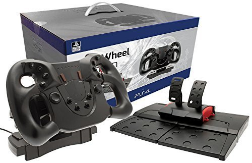 Complete your #F12017 gaming set up with this Official #PS4 #F1 steering wheel and pedals! https://t.co/qDDHtWUHjq https://t.co/l71FblZ7hz