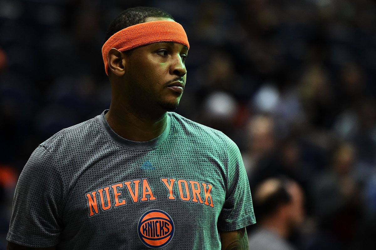 Melo wants the Knicks to trade him before the start of training camp n...