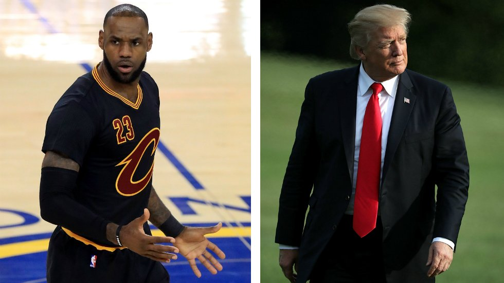 JUST IN: LeBron James to Trump: It was an honor to visit the White House until you showed up https://t.co/In96bRcPcd https://t.co/J9ejyQ7GrP