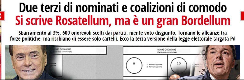 #Rosatellum