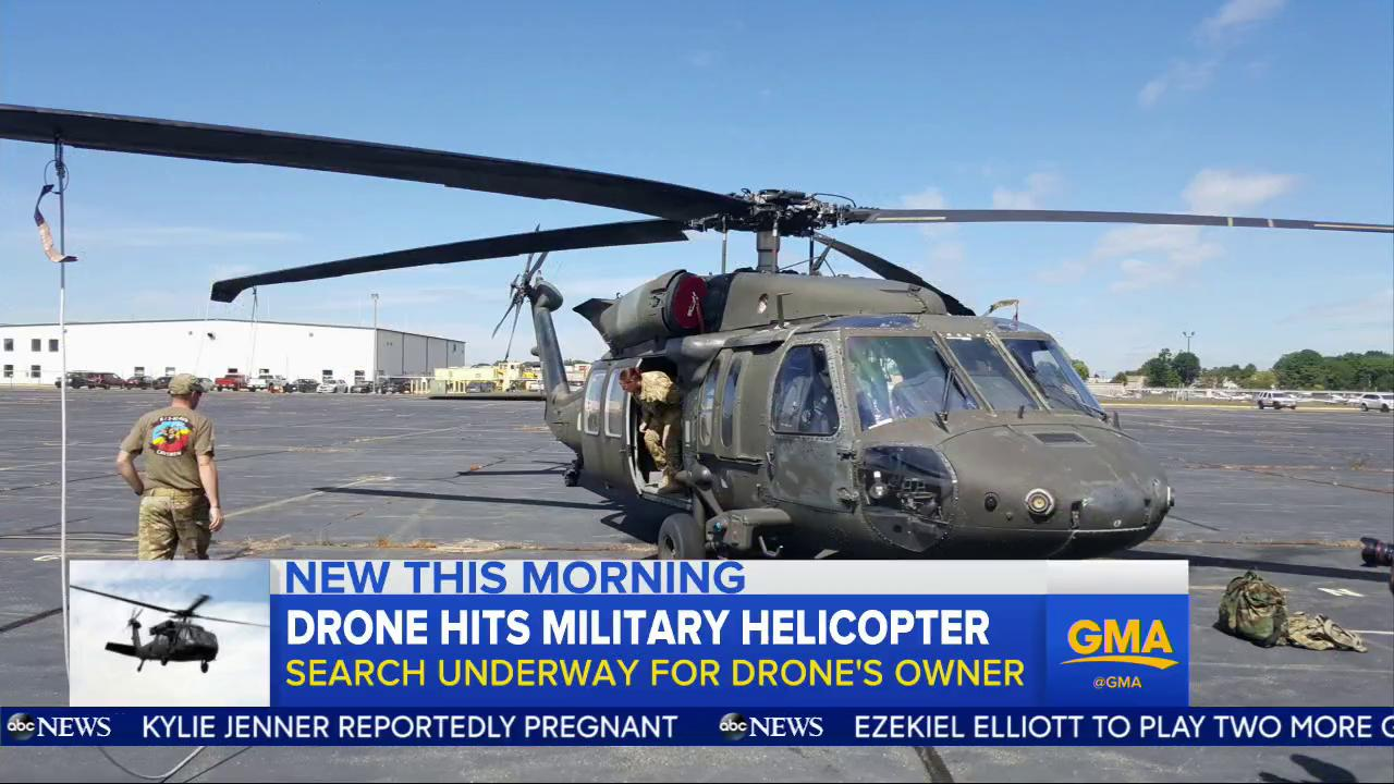 WATCH: Drone hits military helicopter; search underway for drone's owner: https://t.co/jGJ0mfxdGD @eriellereshef https://t.co/MZb0UdlKA6