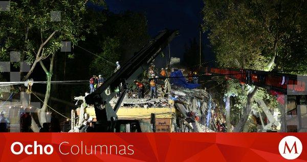 #OchoColumnas   No más voluntarios, comienza el 'rescate quirúrgico' tras #sismo https://t.co/vGBfQ2wcfA https://t.co/xh1697bsiH