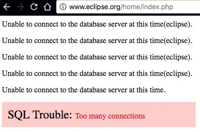 test Twitter Media - @EclipseFdn What's happening? I can't even download Eclipse from the website or update it from the program itself. https://t.co/UwjkZD0Pt6