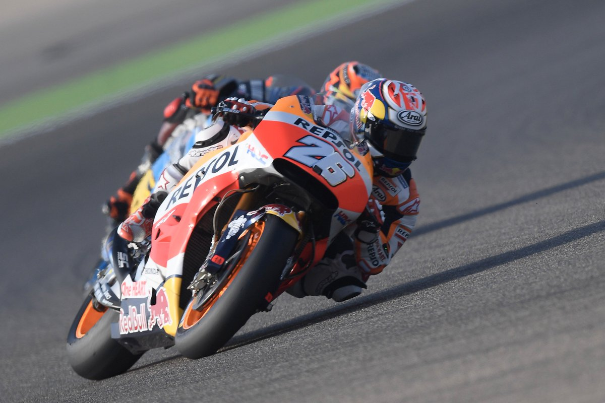 """test Twitter Media - """"Today we tried to do the best work possible for the dry conditions, working as much as we could on our bike's setup and on tyres""""🎙#DP26 P6 https://t.co/vyeZfjTndo"""