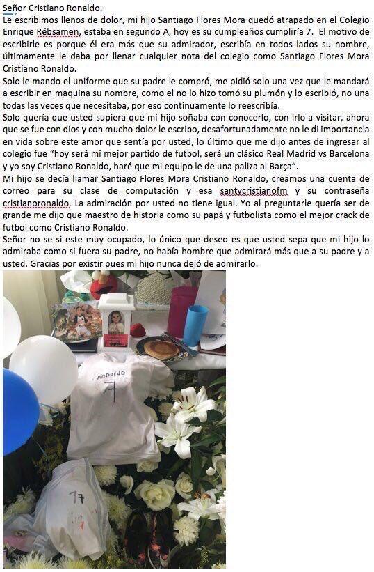 Oigan @Fun_Realmadrid ayúdennos a que esto le llegue a @Cristiano ������������ chamacos RT masivo!! https://t.co/c1srhkYIHB