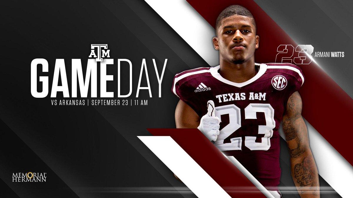 It's #GameDay, pres. by  🏈 vs Arkansas 🕚 11am 📍 ATT S...