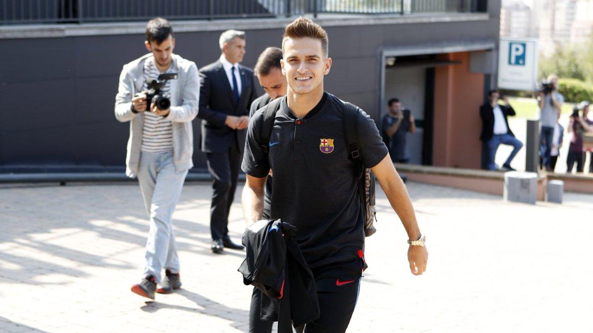 �� The Barça players arrive in Girona ���� #ForçaBarça #GironaBarça https://t.co/dmx3VnDqJ9