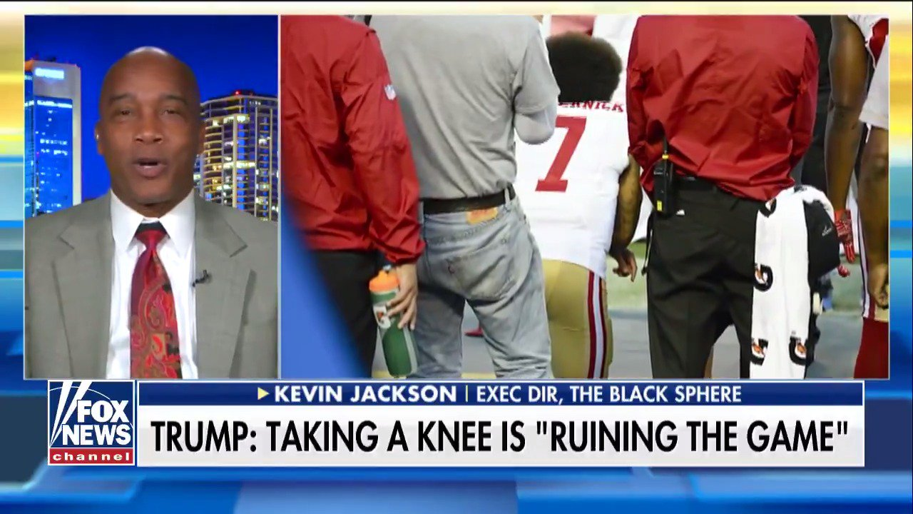 .@KevinJacksonTBS: '@Kaepernick7 Effect' to Blame for @NFL's Ratings Decline https://t.co/05QT7SYdPa https://t.co/CKxMyGbVN2