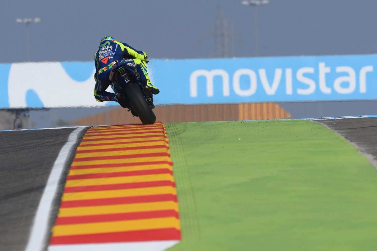 test Twitter Media - The blue matadors brought home the results on day 2 in Aragón. #MovistarYamaha #MotoGP #AragonGP https://t.co/tZ0KYERJDz