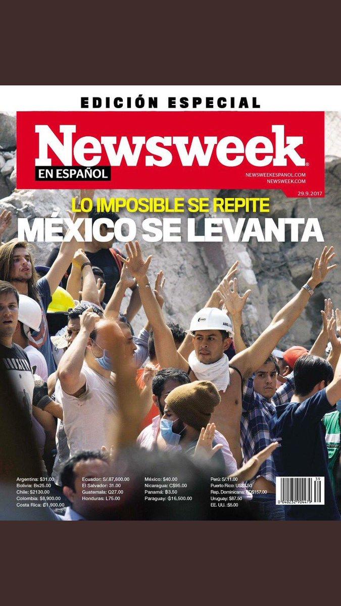 RT @Victor_GuzmanG: #SismoMexico2017, edición especial de @NewsweekEspanol https://t.co/BS8NfEXJ4f