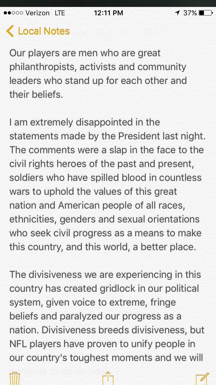 My statement: https://t.co/xxX6LRI92f