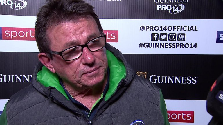 test Twitter Media - WATCH: A gruff Kieran Keane gives short, abrupt answers following Connacht's late loss to Cardiff: https://t.co/txbOQHNYlu https://t.co/FacxH2fQRS