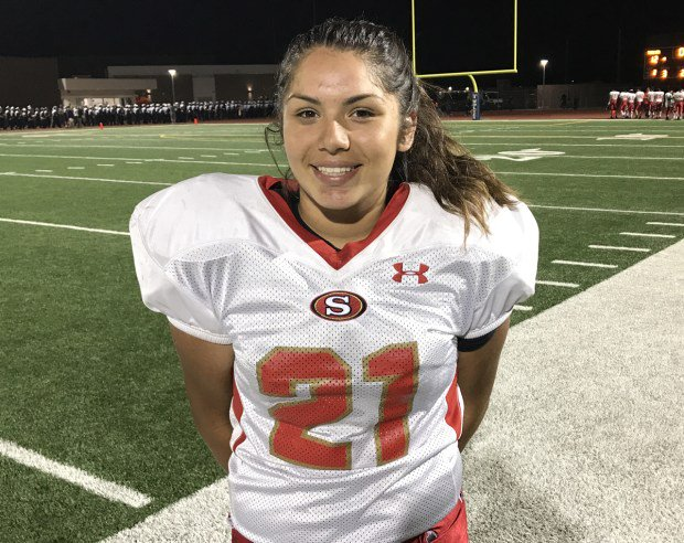 Natalie Castro kicked 4 PATs for Segerstrom in its win over Northwood...