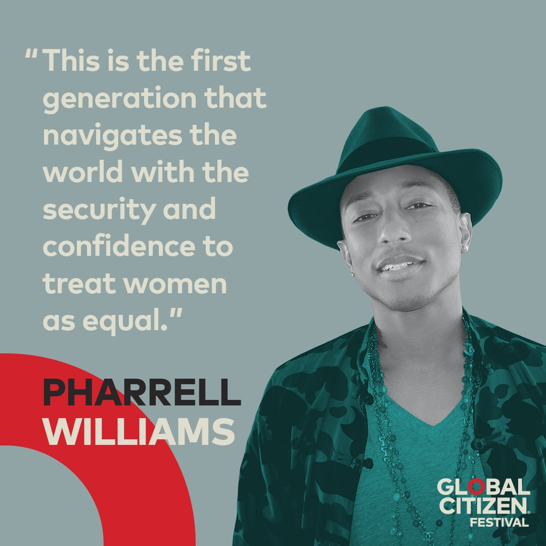 RT @GlblCtzn: The future is female 🙌 See you soon @Pharrell! #GCFest https://t.co/r5iX6eFRIG