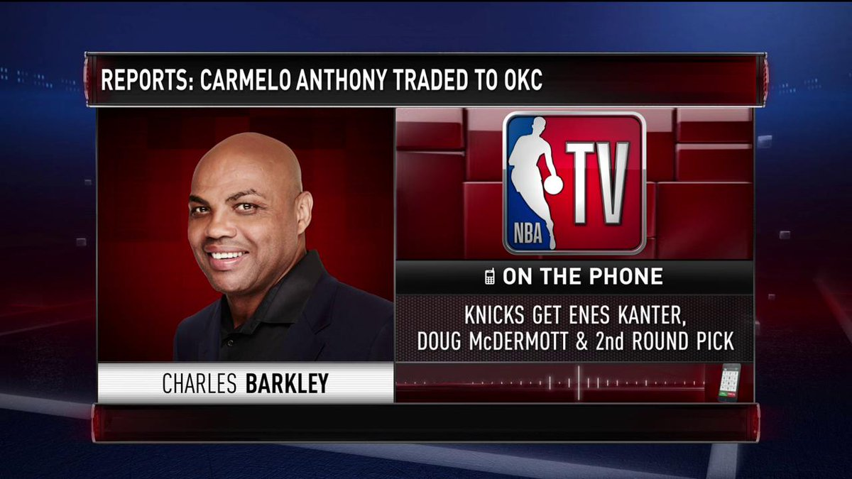 """I think that sets a bad precedent."" - Charles Barkley on the White House controversy on #GameTime."