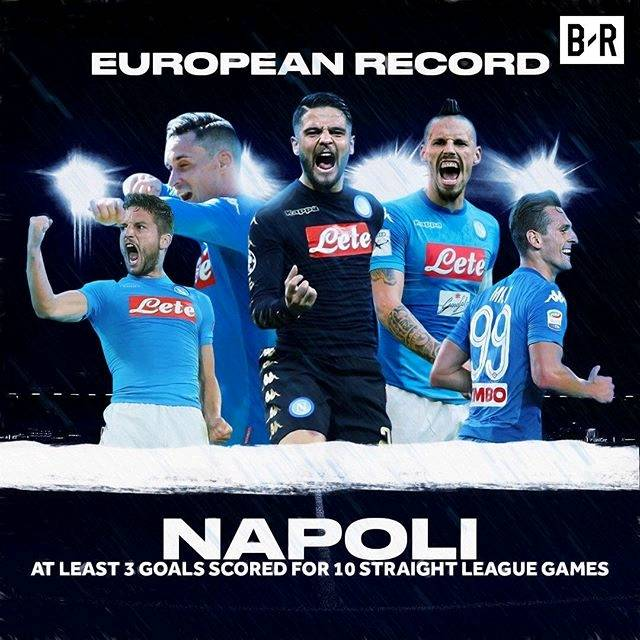 Napoli goals in their last 10 Serie A games:  3-4-6-3-3-3-4-4-5-3 😮 📷: @brfootball https://t.co/LQpblxvfGC