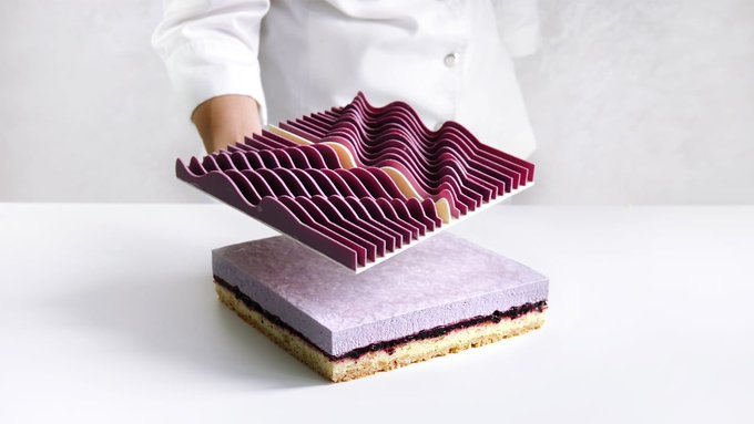 @FastCoDesign: These CNC-milled sculptures are actually delicious pastries https://t.co/IkgnxxH2Rl https://t.co/0jHoMv76se