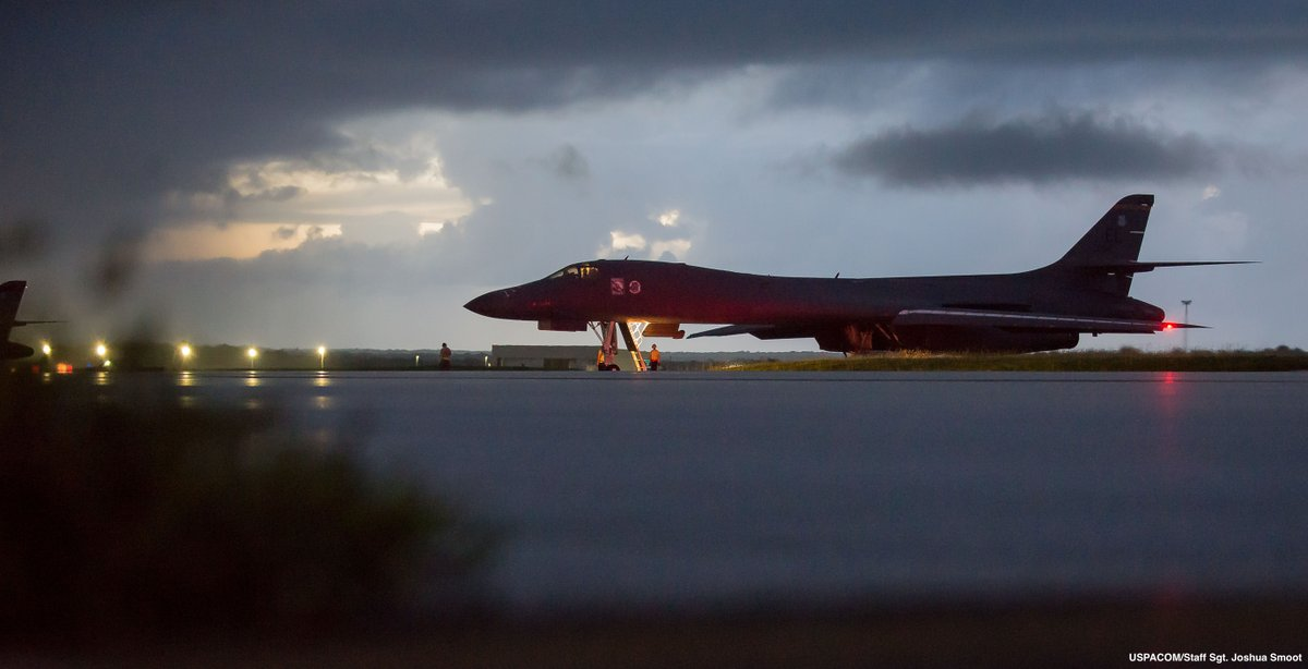 "US flies bombers off North Korean coast to send message on America's ""military options"""