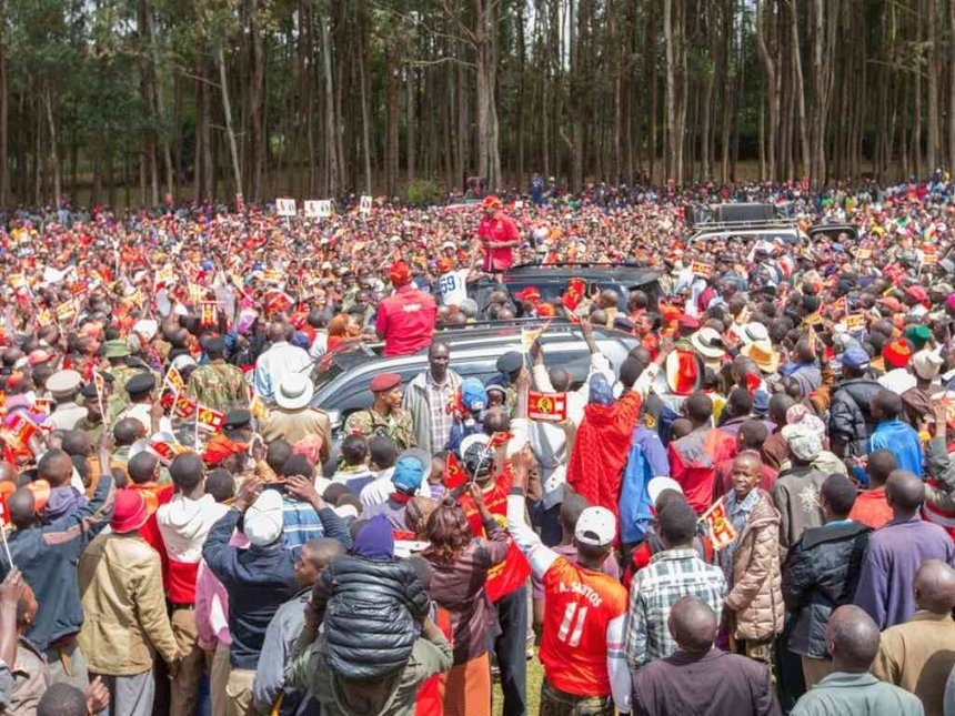 Meru women leaders go door to door for Uhuru, tell off NASA