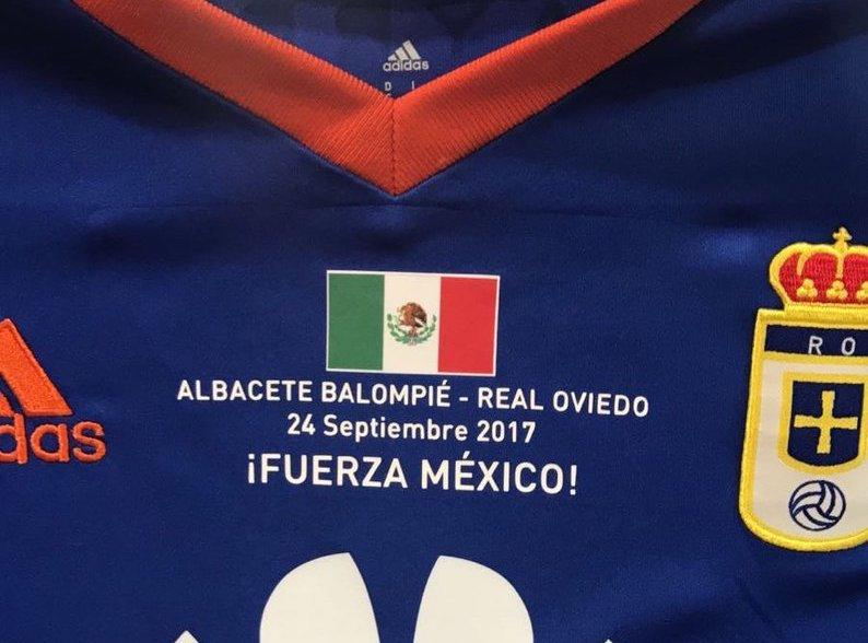 RT @lopezdoriga: El @RealOviedo español se unió a las muestras de apoyo para México https://t.co/CWQw7HRIkY https://t.co/KTisgunaZR