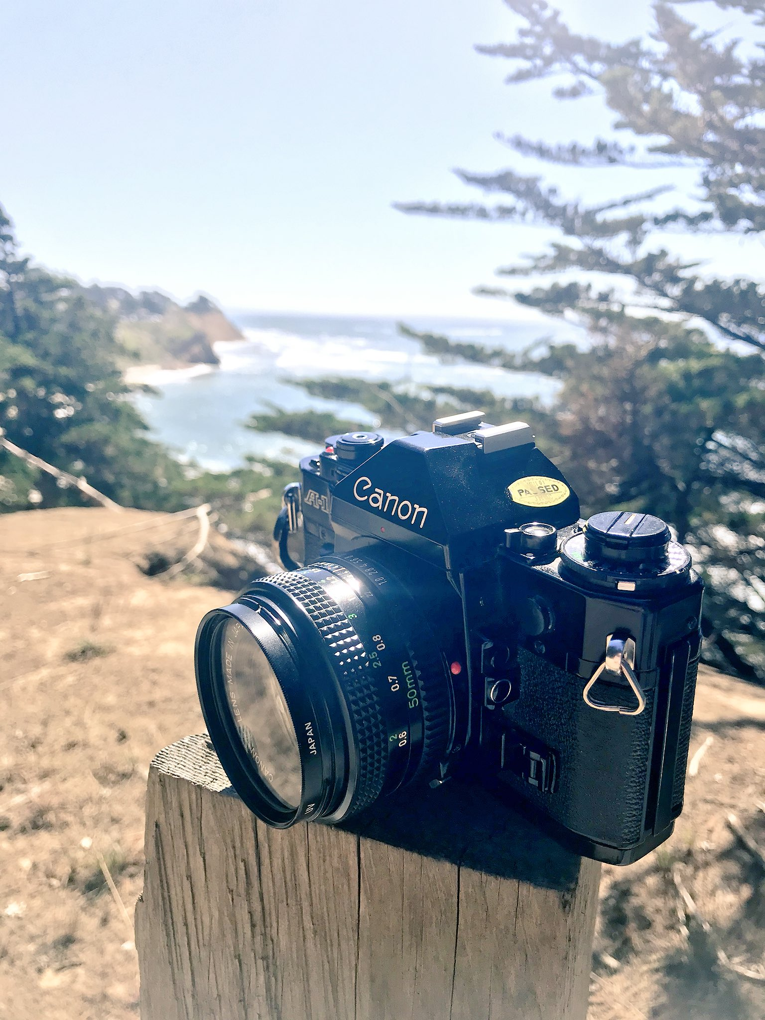 Shooting some film near Pacifica https://t.co/96LhY7XHKH