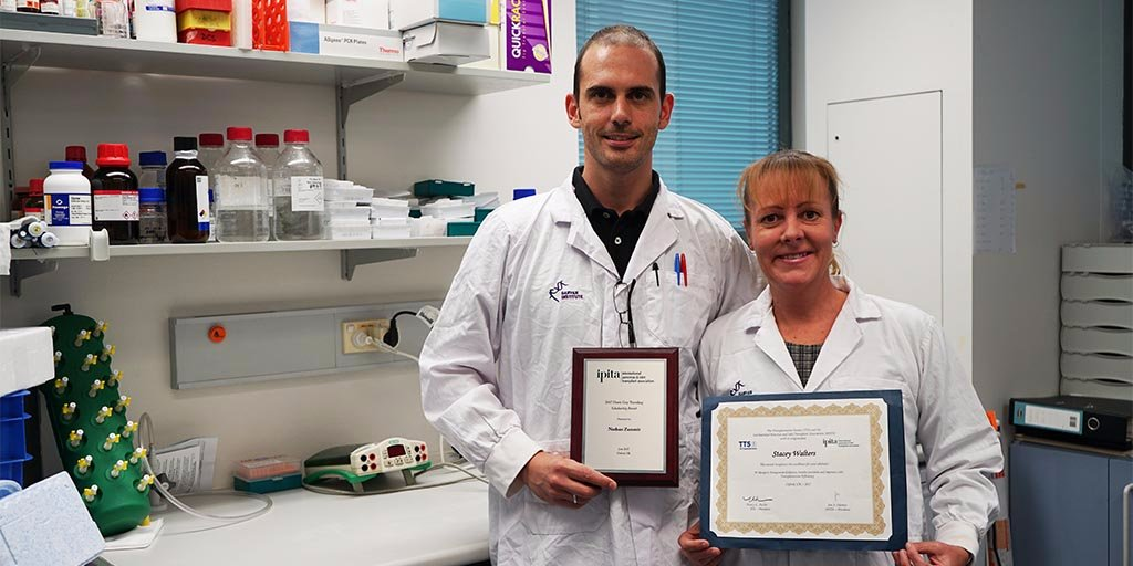 test Twitter Media - Nathan Zammit & Stacey Walters won awards for their #T1D & transplant #research at @ipita2017. Congrats! #Diabetes https://t.co/uYjPDt4uLT https://t.co/b60Ct93qJ0