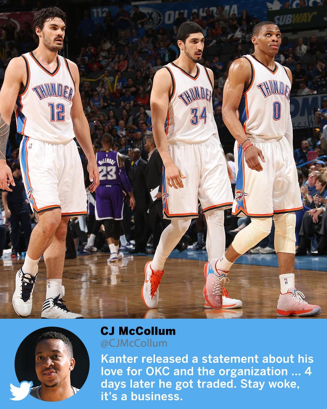 C.J. McCollum isn't here for your NBA loyalty talk. https://t.co/QPDKEBKu3h