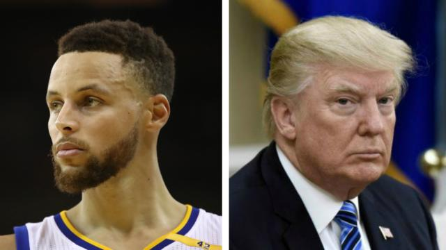 #BREAKING: Steph Curry: Trump publicly targeting me is 'not what leaders do' https://t.co/rENw6R5XZC https://t.co/gQcWW5Rjpd